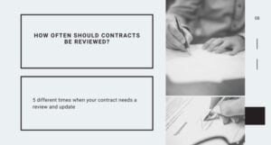 Contract Review: How Often Should You Check It?